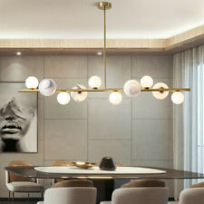 Modern Ceiling Lights Glass Pendant Light Gold Lamp Kitchen Chandelier Lighting