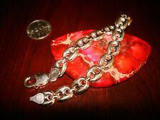 "Bracelet ""Anchor Chain"".925 Stunning Vintage Sterling Silver"