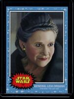2020 Topps Star Wars Living Set #157 General Leia Organa SP Card The Last Jedi