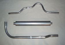 1931-1932 BUICK 80 & 90 SERIES EXHAUST SYSTEM, ALUMINIZED