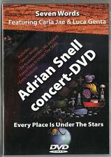 DVD Adrian Snell in Concert. Every Place Is Under The Stars. Seven Words. CCM