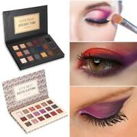 18 Colors Pro Eye Shadow Palette Matte Glitter Makeup Shimmer Eyeshadow Cosmetic
