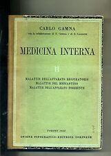 Carlo Gamna # MEDICINA INTERNA II # UTET 1950