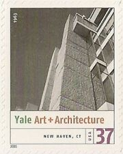 US 3910i Modern Architecture Yale Art & Architecture 37c single MNH 2005