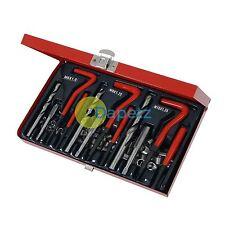 88 Pc Helicoil Thread Repair Kit M6 M8 M10 Workshop Garage Tool Tap Drill Insert