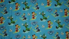 MICKEY AND FRIENDS  fabric 100%  COTTON FAT QUARTER
