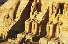 """TEMPLES RAMSES II EGYPT"" Rock Carving 750 Pcs Pieces BOXLESS Jigsaw Puzzle 100%"