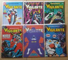 Vigilante #10-15 (D.C Comics)