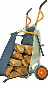 Wheelbarrow Firewood Carrier•Converts Wheelbarrow to Firewood Carrier in seconds