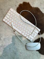 Clavier sans fil Apple Magic Keyboard 2 Azerty Bluetooth rechargeable + souris