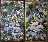 BALI (INDONESIA): 2 ACRILICO SU TELA