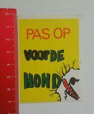 Aufkleber/Sticker: Pas op voor de Hond (250716144)