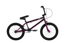 "Haro Frontside Kids 18"" Wheel 18"" Top Tube 25/9T Gearing BMX Bike Purple HA1609"