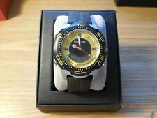 PRE-OWNED  Freestyle Men's Shark X 75035 Black Gold Sport Watch A126-04