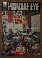 PRIVATE~EYE~VINTAGE~MAGAZINE~FRIDAY~21ST~APRIL~2000~No~1000~POLITICS~SATIRE