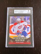 2010-11 UD P.K. Subban Young Guns Rookie Card #231 Graded 8