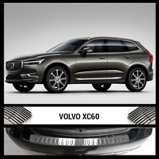 VOLVO XC-60 Rear Bumper Chrome Protector Cover Scratch Guard S.Steel 14 -18