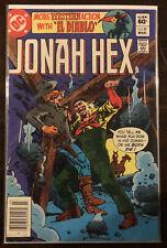 Jonah Hex #58 FN 6.0 DC COMICS WESTERN EL DIABLO