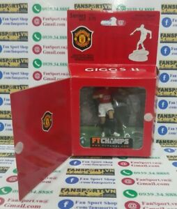 Giggs 11 Manchester United 2007 2008 2009 figure FT Champs box 7.5cm 3inch rare