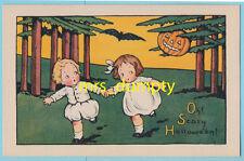 HALLOWEEN Mary Russell Kids~Fairman POSTCARD~Nr MINT~#1