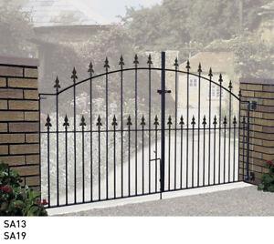 Driveway gates Wrought iron, metal, steel gates Galvanised & Powder Coated