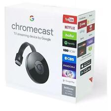 Google Chromecast 2 Digital Hd Media Streamer 2nd Generation Black New