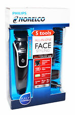 Philips Norelco FACIAL HAIR TRIMMER GROOMING KIT QG3330 DUAL VOLTAGE 100 -> 240V