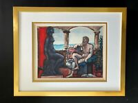 PABLO PICASSO 1956 BEAUTIFUL SIGNED PRINT MATTED 11 X 14 + LIST  $750