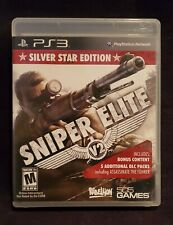 SNIPER ELITE V2 *Silver Star Edition* (Sony Playstation 3 PS3) Clean, Complete
