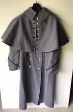 VINTAGE CADET USMC WESTPOINT Wool Dress Coat w/ CAPE