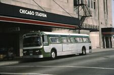 CTA Chicago Transit Authority Flxible bus Kodachrome original Kodak slide
