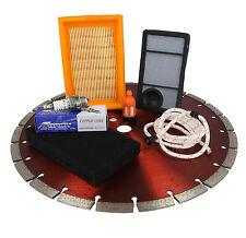 Diamante Cuchilla filtros de combustible aire enchufe de la cuerda se Ajusta Stihl TS400