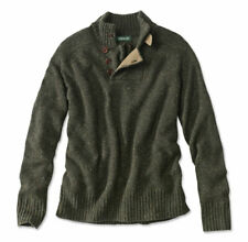 Mens XXL Charles F Orvis Signature Wool/Cashmere Donegal Sweater