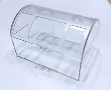 Clear plastic treasure chest favor boxes-pack of 6