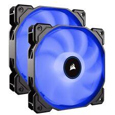 Corsair AF140 Air Series LED 140mm Computer Case Fans - Dual Pack - Blue