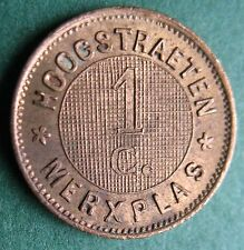 Trade token - Belgium State Prison Colonies Hoogstraten and Merksplas -1c (1886)