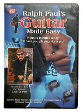 Ralph Paul's Guitar Lessons Made Easy 5 DVD Set Learn to Play...5 Minutes a Day!