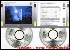 """SCHNEBEL Dieter """"Missa"""" (2 CD) Zoltan Pesko 1993"""
