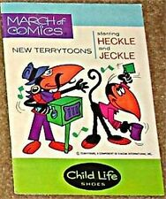 MARCH OF COMICS 393 HECKLE & JECKLE F+VF- RARE GIVEAWAY PROMO PROMOTIONAL
