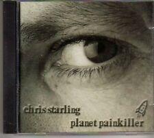 (CJ606) Chris Starling, Planet Painkiller - 1999 CD
