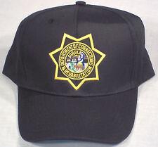 California CA Department of Corrections & Rehabilitation CDCR baseball cap/hat