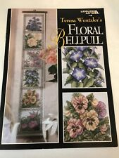 Teresa Wentzler Floral flowers Bell Pull Counted Cross stitch pattern chart