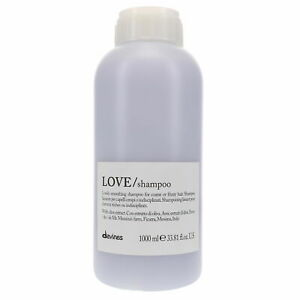 Davines Essential Haircare Love Smooth Shampoo  1000 ml 33.8 fl.oz  pH 5.3
