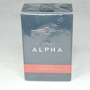 Avon  ALPHA  Eau de Toilette Cologne Spray for Men 3.4 oz  NIB and SEALED