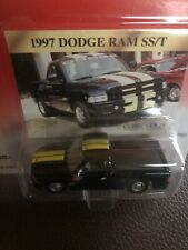 1/64 1997 Dodge Ram SS/T Johnny Lightning Classic Gold Toy Truck