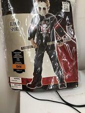 Blood Sport 3 piece Halloween costume Size  Child 10-12