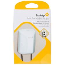 Safety 1st Outlet Cover with Cord Shortener for Baby Proofing - Total Protection