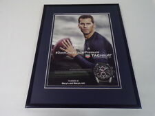 Tom Brady 2017 Tag Heuer Watches Framed 11x14 ORIGINAL Advertisement Patriots