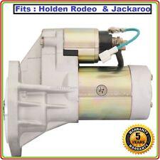 STARTER MOTOR FOR HOLDEN RODEO JACKAROO TURBO TF DIESEL 2.5L 2.8L 3.0L 88-04