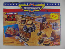 vintage 1991 Micro Machines Military Battle Fortress Playset Galoob